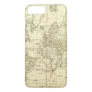 Coque iPhone 7 Plus Carte 5 du monde