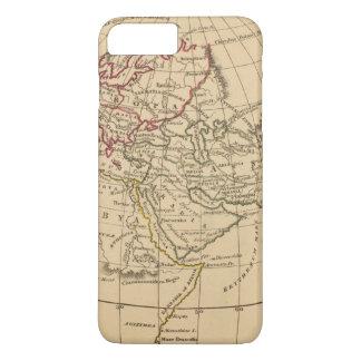 Coque iPhone 7 Plus Carte classique du monde