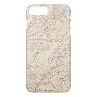 Coque iPhone 7 Plus Carte, Corrientes Prov, mission de Terr