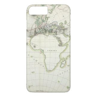 Coque iPhone 7 Plus Carte d'activité volcanique