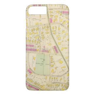 Coque iPhone 7 Plus Carte de Boston 7