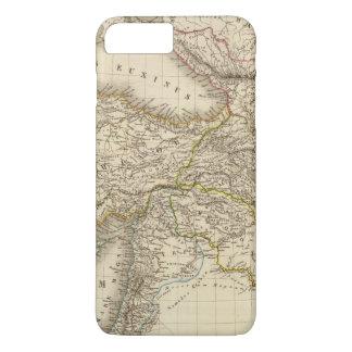 Coque iPhone 7 Plus Carte de la Turquie Syrie