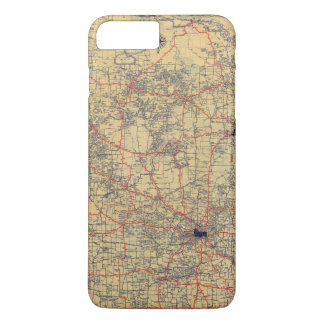Coque iPhone 7 Plus Carte de norme du Minnesota
