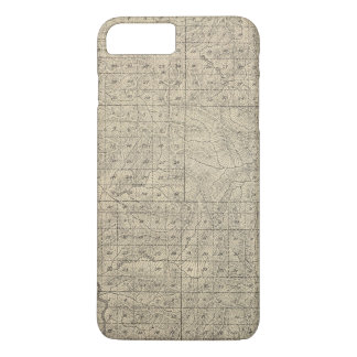 Coque iPhone 7 Plus Carte de section de T2124S R3235E Tulare County