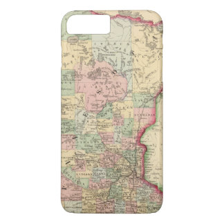 Coque iPhone 7 Plus Carte du Minnesota par Mitchell