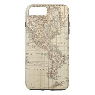 Coque iPhone 7 Plus Carte du monde 2