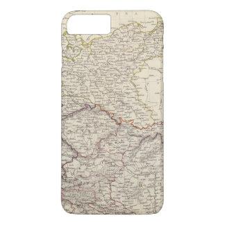 Coque iPhone 7 Plus Carte générale de l'Allemagne