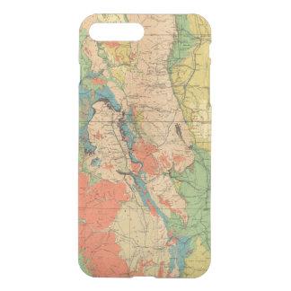 Coque iPhone 7 Plus Carte géologique générale du Colorado