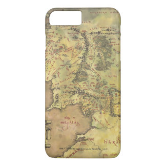 Coque iPhone 7 Plus Carte MOYENNE d'EARTH™ #2