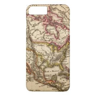 Coque iPhone 7 Plus Carte nord-américaine 2