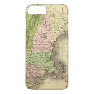Coque iPhone 7 Plus Carte orientale d'Olney d'états