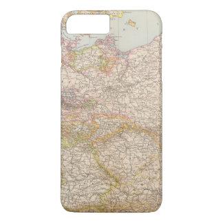 Coque iPhone 7 Plus Carte politique de l'Allemagne
