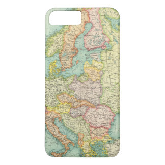 Coque iPhone 7 Plus Carte politique de l'Europe