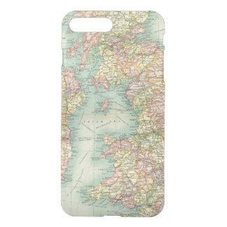 Coque iPhone 7 Plus Carte politique d'îles britanniques