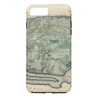 Coque iPhone 7 Plus Carte sanitaire et topographique de New York City