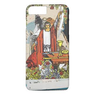 "Coque iPhone 7 Plus Cas de ""magicien"" (tarocchi du RW - ver beige)"