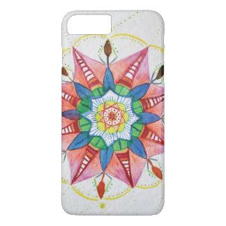 Coque iPhone 7 Plus Cas de téléphone de l'iPhone 7 d'Apple de mandala