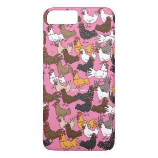 Coque iPhone 7 Plus Cas de téléphone portable/couverture - rose