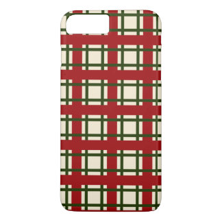 Coque iPhone 7 Plus Cas élégant de téléphone du motif | de Noël de