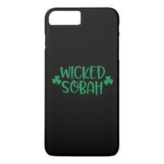 Coque iPhone 7 Plus Cas mauvais de téléphone portable de Sobah,