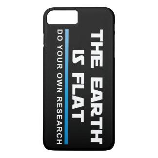 Coque iPhone 7 Plus Cas plus de #FLATEARTH de l'iPhone 7 d'Apple