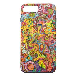 Coque iPhone 7 Plus Cas plus de l'iPhone 7 abstraits colorés