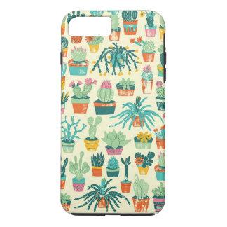 Coque iPhone 7 Plus Cas plus de l'iPhone 7 colorés de motif de fleur