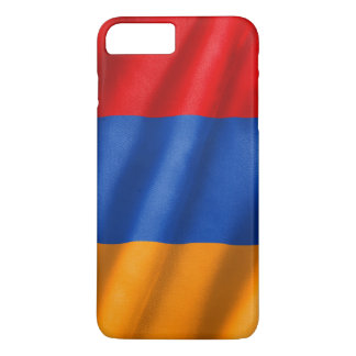 Coque iPhone 7 Plus Cas plus de l'iPhone 7 de drapeau de l'Arménie