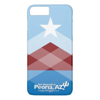 Coque iPhone 7 Plus Cas plus de l'iPhone 7 de drapeau de Peoria
