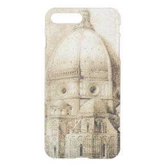 Coque iPhone 7 Plus Cathédrale de Florence de l'est, des 'fragments