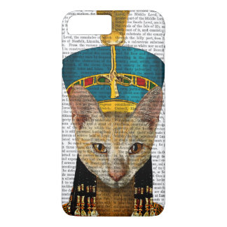 Coque iPhone 7 Plus Chat égyptien de la Reine