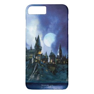 Coque iPhone 7 Plus Château de Harry Potter | Hogwarts la nuit