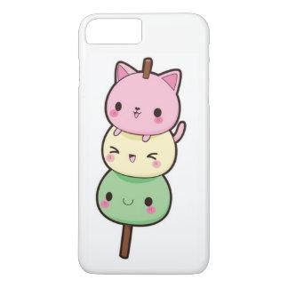 Coque iPhone 7 Plus Chatons de Kawaii Mochi