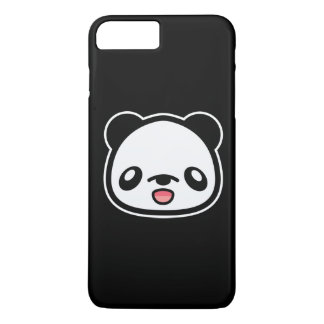 Coque iPhone 7 Plus Chef heureux de panda de Kawaii