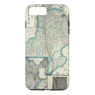 Coque iPhone 7 Plus Chemin de fer du Texas Pacifique