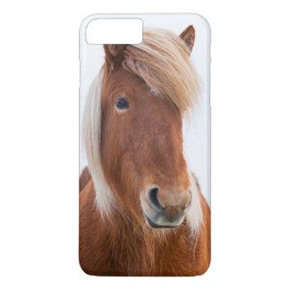 Coque iPhone 7 Plus Cheval islandais pendant l'hiver 2