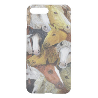Coque iPhone 7 Plus Chevaux de chevaux