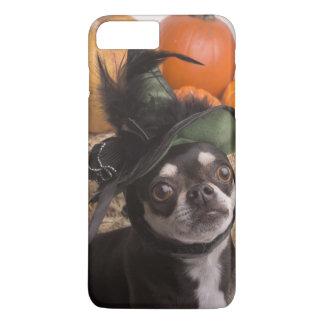 Coque iPhone 7 Plus Chien de sorcière de Halloween