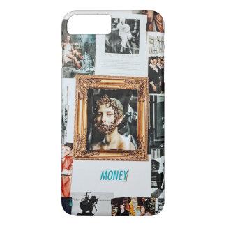 Coque iPhone 7 Plus Collage de mode d'argent