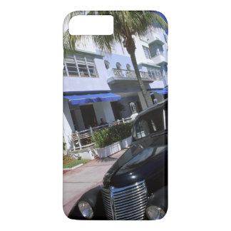 Coque iPhone 7 Plus Commande d'océan, Miami Beach la Floride