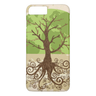 Coque iPhone 7 Plus Concept du monde d'arbre