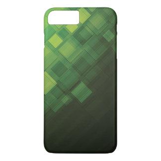 Coque iPhone 7 Plus Conception abstraite verte de technologie
