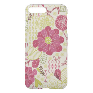Coque iPhone 7 Plus Conception fleurie rose