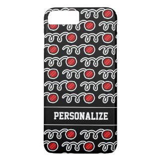 Coque iPhone 7 Plus Conception fraîche de sports de motif de boule de