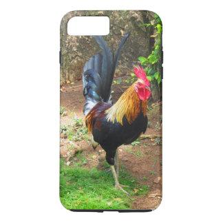 Coque iPhone 7 Plus Coq hawaïen