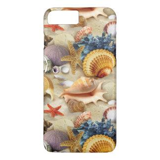 Coque iPhone 7 Plus Coquillages de plage