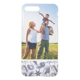 Coque iPhone 7 Plus Coquillages faits sur commande de Lavendar de