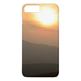 Coque iPhone 7 Plus Coucher du soleil à la campagne