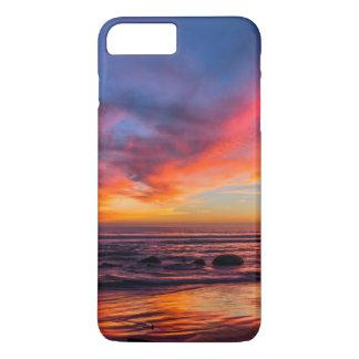Coque iPhone 7 Plus Coucher du soleil au-dessus du Pacifique de