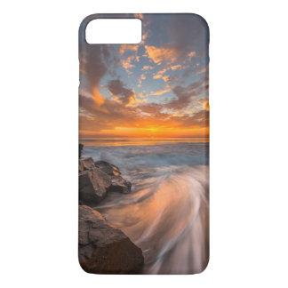 Coque iPhone 7 Plus Coucher du soleil de plage de Tamarach